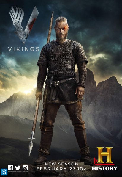 Download – Vikings 2ª Temporada Completa 1080p + 480p  Dual Áudio